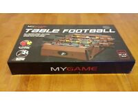 TABLE FOOTBALL GAME IN BOX UNWANTED GIFT AS NEW BOYS TOYS