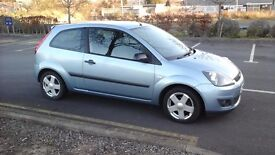 FORD FIESTA STYLE CLIMATE PETROL 1.25 2006 (56) MOT AUG