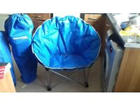 two trespass moon chairs