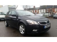 **FULL SERVICE HISTORY** 2010 KIA CEE'D 2 1.6 5 DOOR HATCHBACK **LONG MOT+RECENT SERVICE**