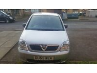 Vauxhall meriva 05 1.4 in good condition full paperwork call for any more info