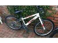 Childs bike with broken front brakes