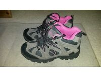 New ladies walking boots size 5
