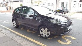 2008 Ford Fiesta 1.4 TDCi Style, 3 Door, 1 P/OWNER, F/S/H, HPI CLEAR, £20 YR R/T, BLACK, DIESEL