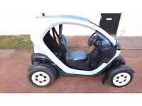 Renault Twizy electric car AUTO 3 pin 'normal' electric plug in EV 12 months mot