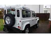 Defender Land Rover 90 County TD. 2015 reg. 12 months manufacturers warranty remaining.