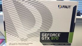 Palit Nvidia GeForce GTX 970 Graphics Card (4GB, GDDR5, PCI Express 3.0)