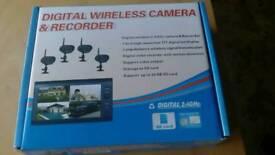 Brand new digital wireless camera recorder