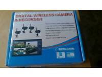 Brand new digital wireless camera recorder