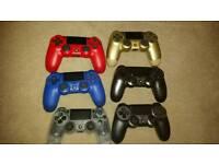 Various Playstation 4 Dualshock 4 Pads