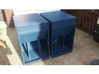 """Pair of 18"""" Folded horn bass bins with 18"""" Fane Colossus 1000W"""