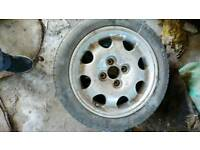 Peugeot 205 1.9 gti spare alloy wheel