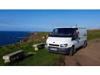 Ford Transit Stealth Campervan- Fully Equipped