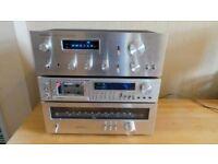 Pioneer SA-508 Blue Line Stereo Amplifier PIONEER TX-608L STEREO TUNER VINTAGE PIONEER CT-400