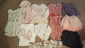 Bundle girls clothes age 4-5 yrs mostly NEXT, H&M