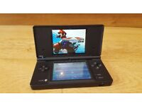 Nintendo DSI with 4 games and charger