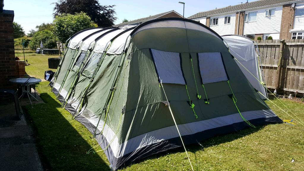 Outwell Montana 12 tent plus sleeping bags | in North ...