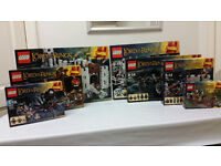 Lego Lord Of The Rings Collection (12 box sets) - New&Sealed