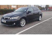 Lexus CT 200h 1.8 F Sport CVT Hybrid 5 door,Automatic,Black,only 27000 miles,1 year MOT,