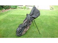 PRICE DROP Elegant Genuine Mercedes Multi Compartment Golf Bag made by TaylorMade for Mercedes.