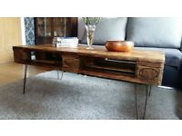 Industrial Rustic chic reclaimed pallet wood coffee table