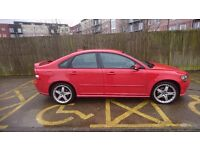 Red volvo s40 T5 77000 miles, 5 month MOT