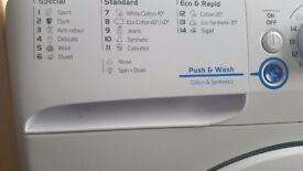 Indesit washing machine 18months old!! BARGAIN
