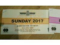 Goodwood festival of speed 1x Sunday ticket SOLD OUT day