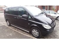 Mercedes Vito 6 seater dualiner with service history