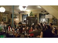 UK Open Mic @ The Apple Tree, Clerkenwell / Farringdon / Holborn / Kings Cross EVERY WEDNESDAY!