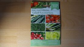 Speedy Seed 6-in-1 Seed Collection Salad Favourites