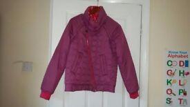 DIESEL jacket 2in1 size S reversible pink winter autumn 8