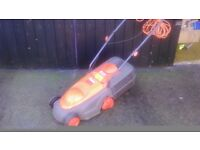 Full working order . Flymo electric mower.