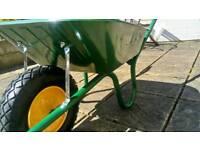 Puncture proof wheelbarrow