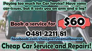Cheap mobile Car Service and Repairs Sunshine Brimbank Area Preview