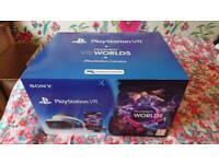 Playstation VR + VR Worlds Game + Camera