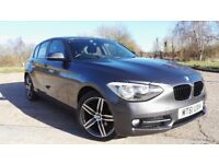 2011/12 BMW 116i 1 Series Hatchback 1.6 Turbo Sport 5dr Only 37k Full Service History HPI Clear