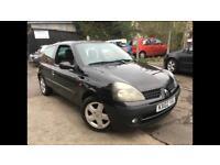 2002/02 RENAULT CLIO 1.2 LONG MOT DRIVES VERY WELL