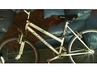 Sliver apollo instinst mountain bike
