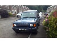 Land Rover Discovery 2 Td5. Very good condition inside and out. MOT until April 2019