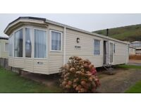 Used 2012 luxury Willerby New Hampton for sale at Freshwater Beach Holiday Park, Dorset