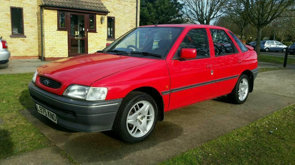 1993 ford escort mk5 red 1 6 in colchester essex gumtree