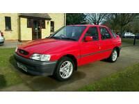 1993 Ford escort mk5 Red 1.6