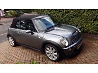 2007 Mini Cooper S Convertible with added extras