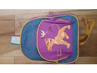 small backpack Back to School Bag Rucksack The Lion king new