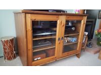 TV, Hi Fi entertainments cabinet.