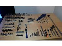 Toolbox full of car tools