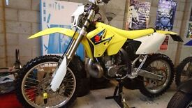 Suzuki RM 250 K8 2008 Road Registered