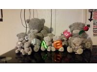 Me to You bears-- £120-- for the lot or ask for individual price