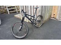 Transition full-suspension mountain bike